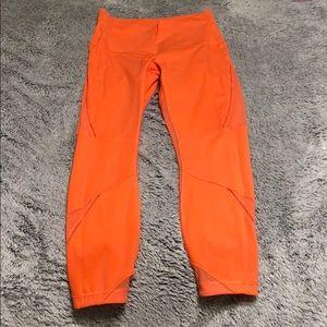 Lululemon 7/8ths leggings—WANDERLUST COLLECTION